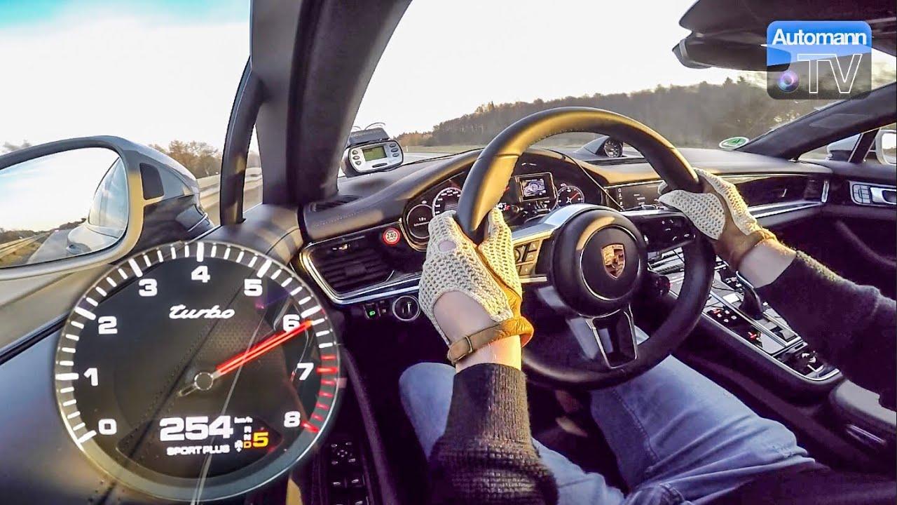 2018 Porsche Panamera Turbo – 0-265 km/h LAUNCH CONTROL (60FPS)