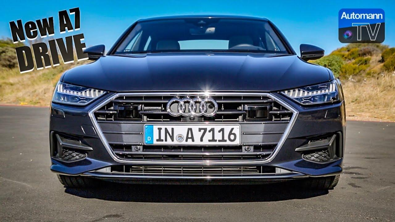 2018 Audi A7 55 TFSI – DRIVE & SOUND (60FPS)