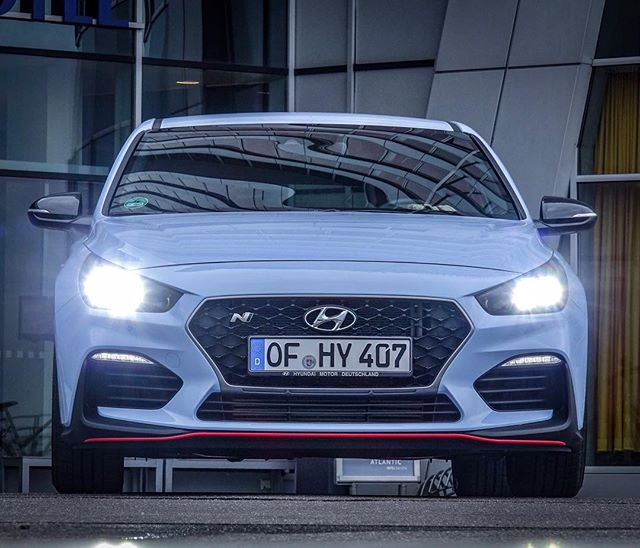Hyundai entered the market with the loudest hot hatch for Garage hyundai 92