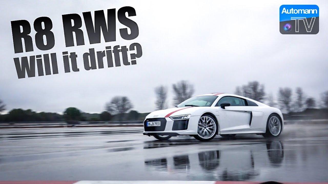 Audi R8 RWS – Can I drift it? (60FPS)