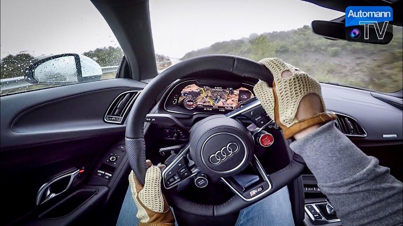 Audi R8 RWS – POV Handling DRIVE (60FPS)