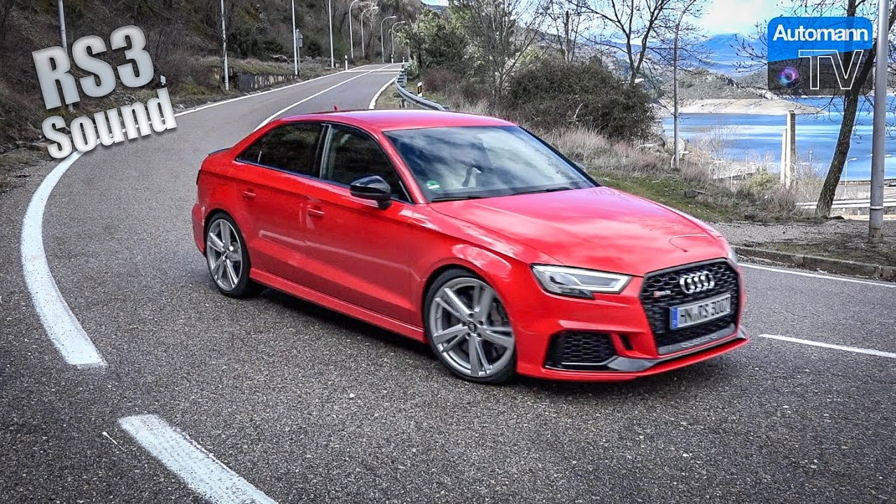 Audi RS3 (RS Sportsexhaust) – DRIVE & SOUND (60FPS)