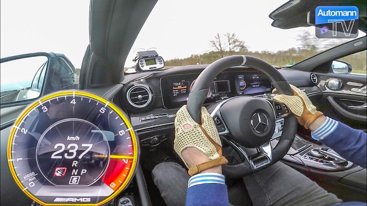 Mercedes-AMG E63s (612hp) – 0-250 km/h RACE START (60FPS)