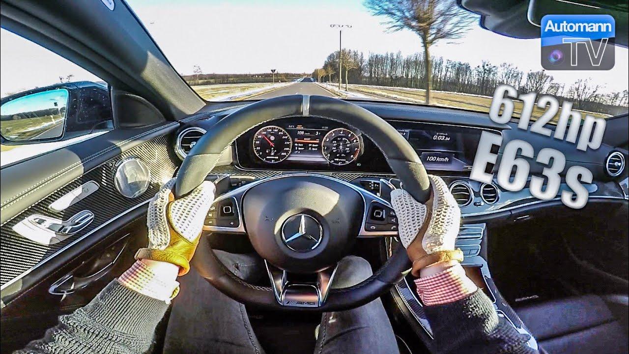 Mercedes-AMG E63s (612hp) – Handling DRIVE (60FPS)