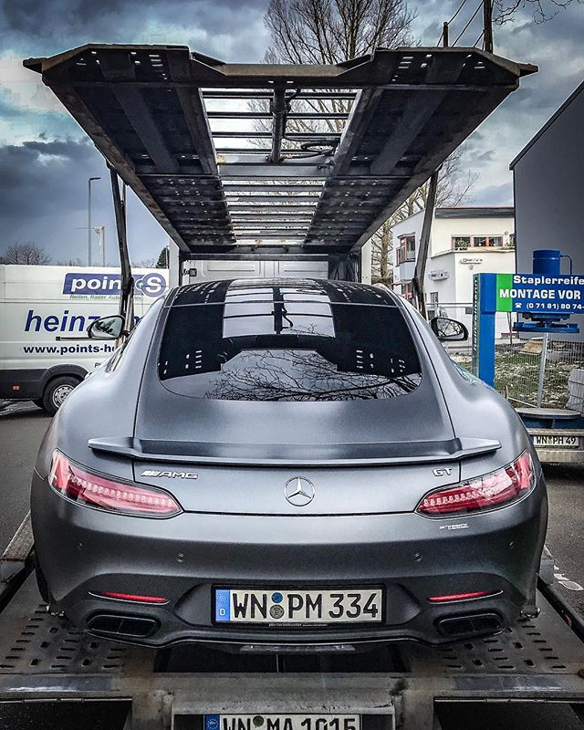 Will this work?😱 @performmaster AMG GT with 612hp & New Aero-Kit is so low😈 Unbelievable days ahead🤘 #mercedes #mercedesamg #amg #amggt #gts #gtr #amggtr #amggtc #mattepaint #performmaster #amgfans #automanntv #v8turbo