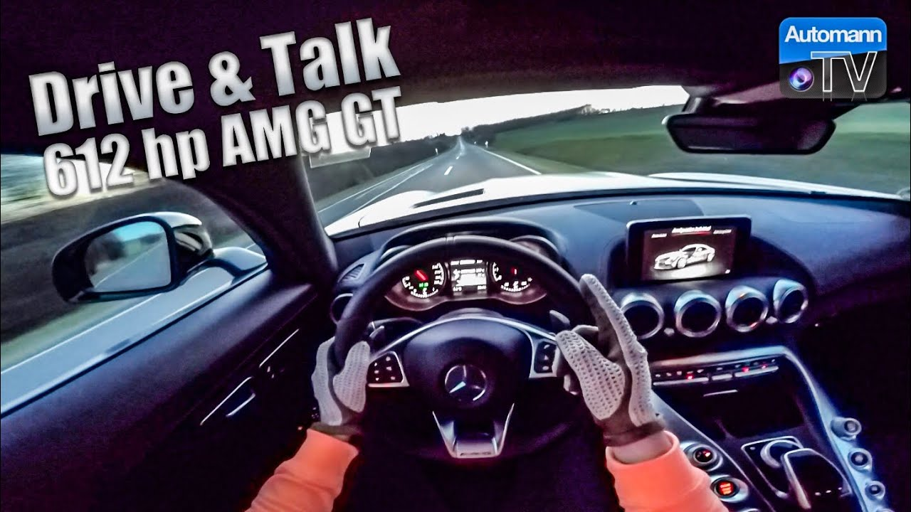 2018 AMG GT (612hp) – DRIVE & TALK (60FPS)