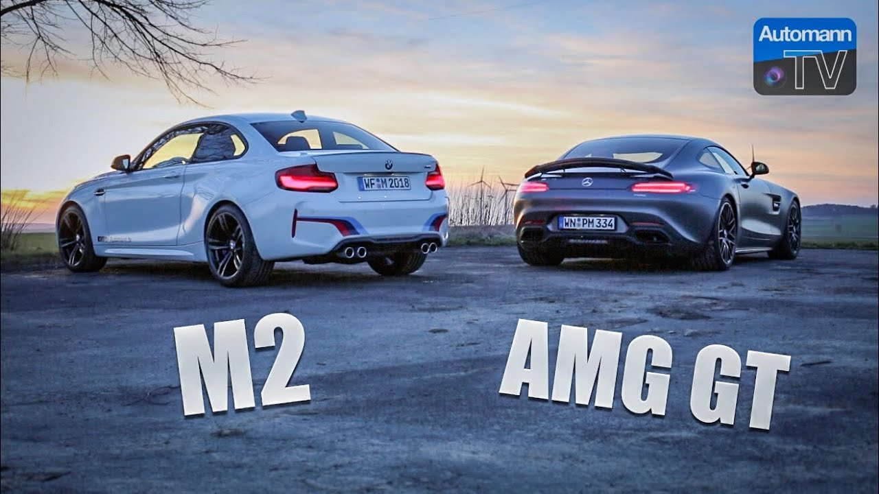 BMW M2 & AMG GTS – pure SOUND (60FPS)