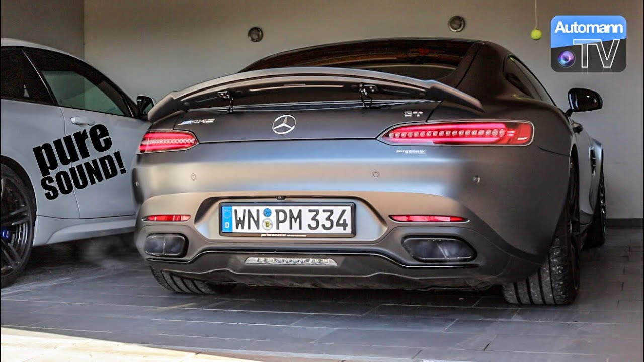 2018 AMG GT (612hp) – pure SOUND (60FPS)