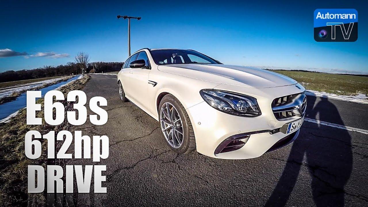 Mercedes-AMG E63s (612hp) – DRIVE & SOUND (60FPS)