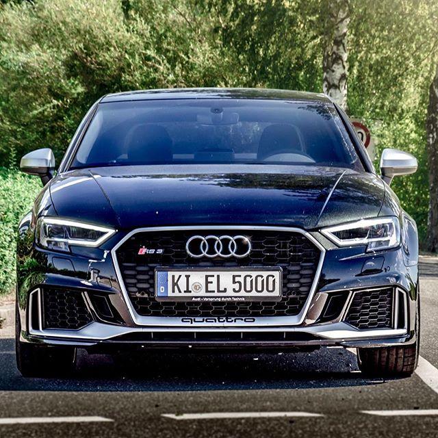 Gorlicious😍 Amazing car this RS3, even compared to M4, C63s and our R8👍 #Audi #audi #audisport #rs3 #rs3limousine #rs3sedan #rs38v #pantherschwarz #pantherblack #blackbeauty #blackpanther #automannsgarage #automanntv #gorlicious