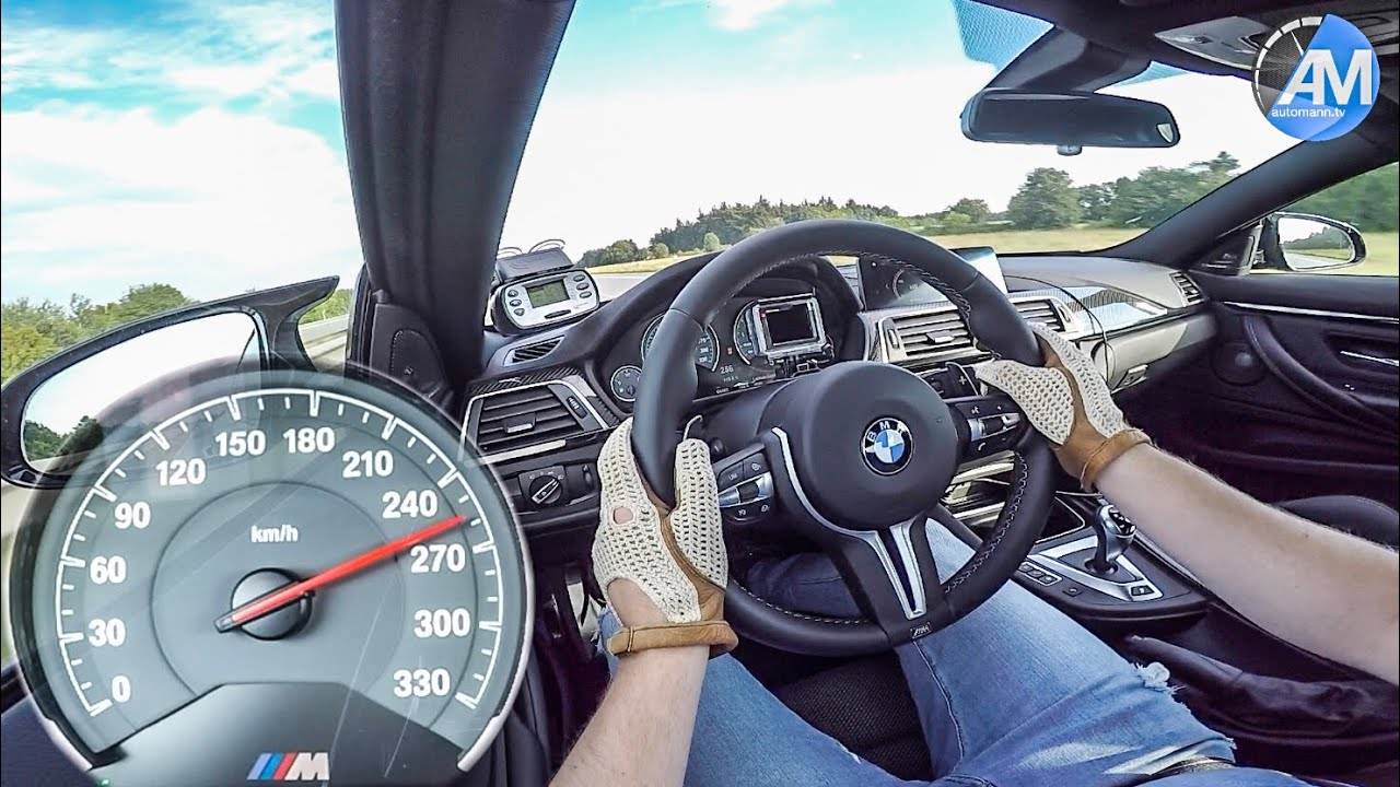 BMW M4 Competition (450hp) – 0-250 km/h Launch Control🏁