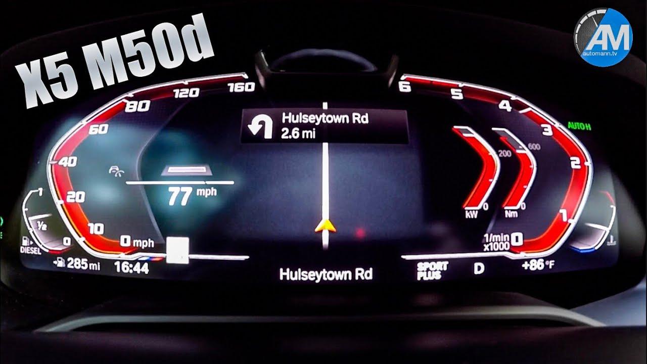 2019 BMW X5 M50d – 0-100 km/h acceleration!