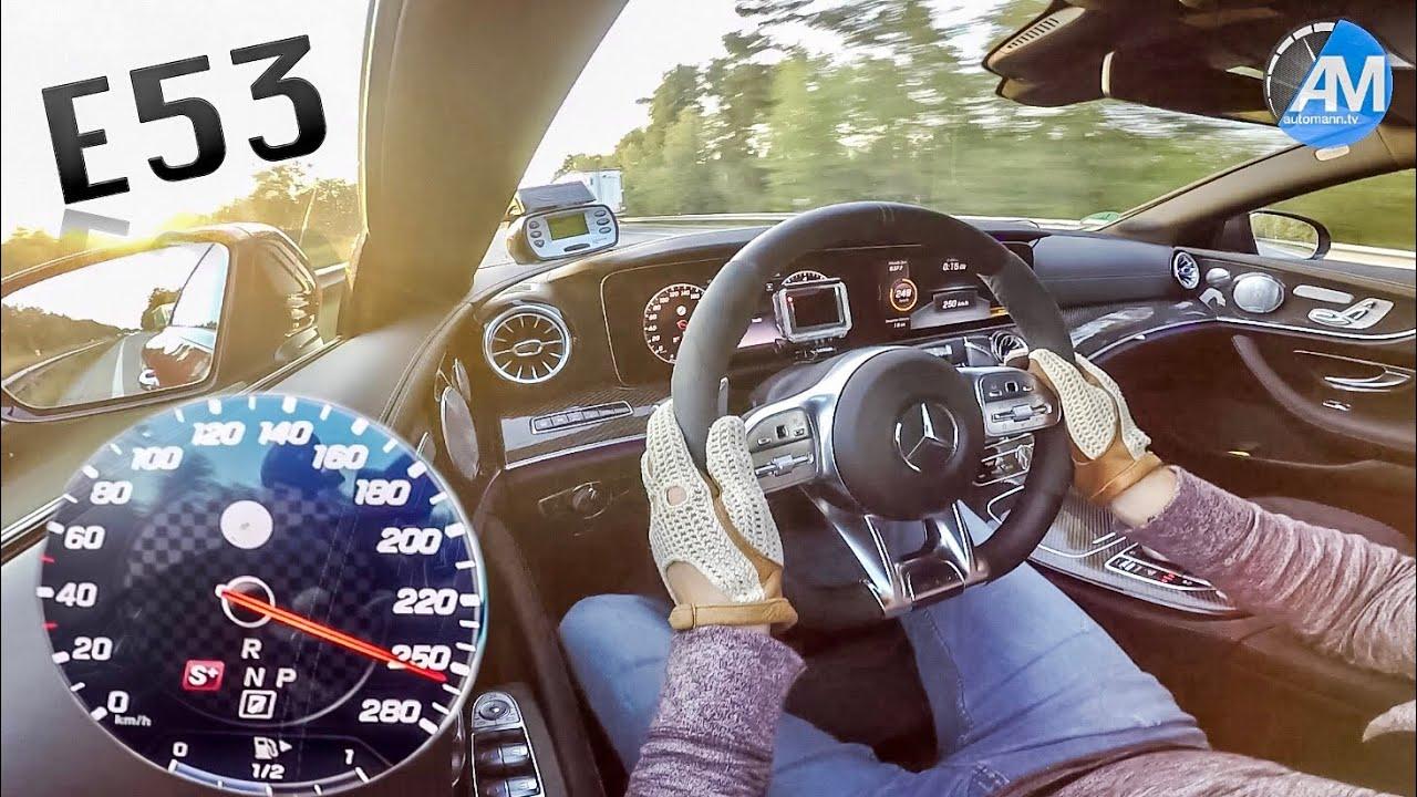 Mercedes-AMG E53 (435hp) – 0-250 km/h acceleration!