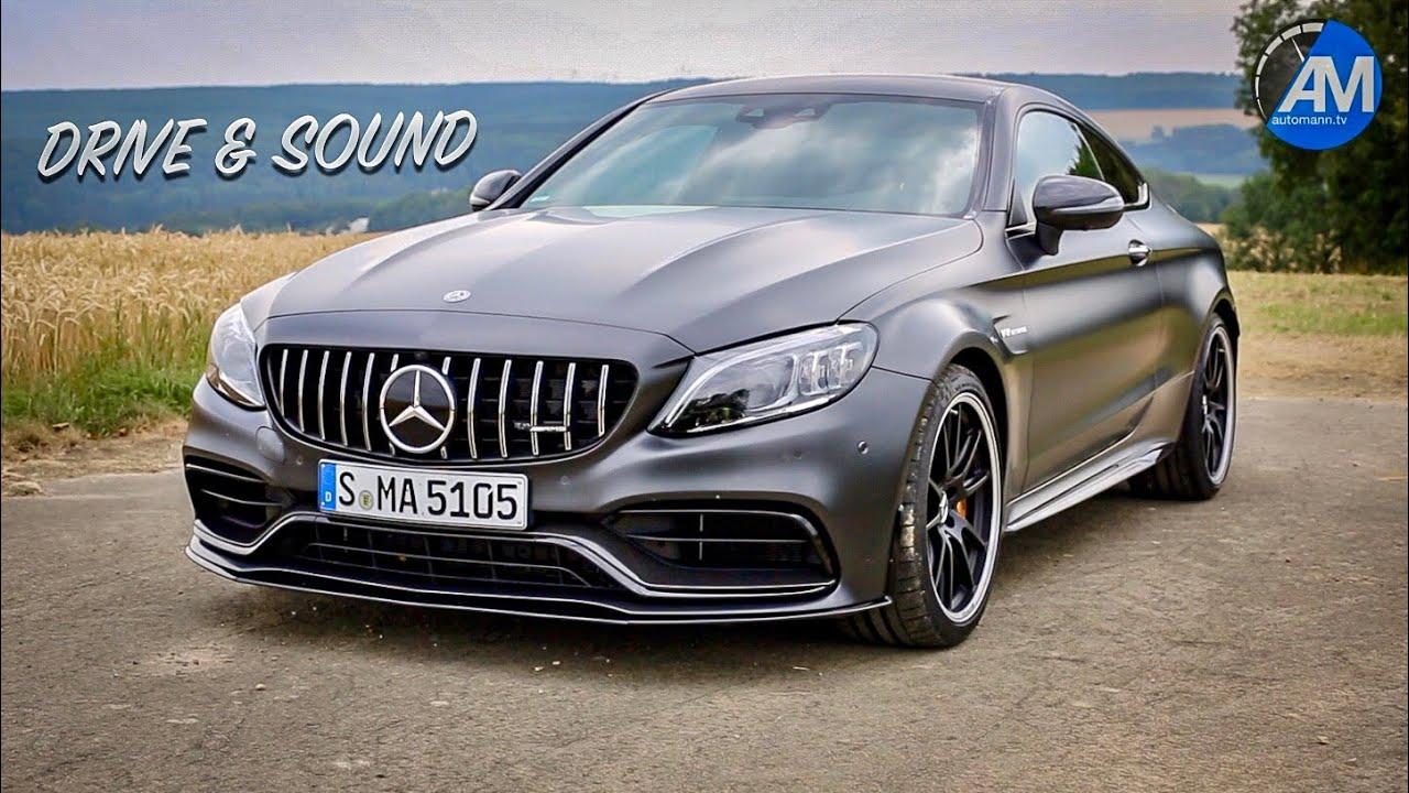 2019 Mercedes-AMG C63s Coupé – DRIVE & SOUND!