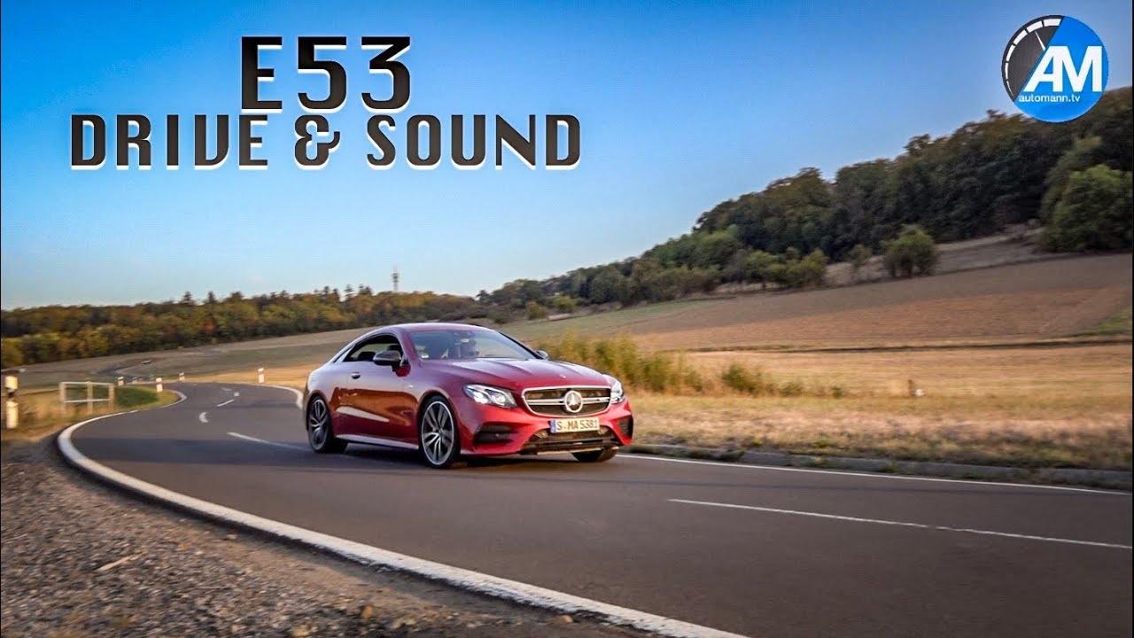 Mercedes-AMG E53 (435hp) – DRIVE & SOUND!