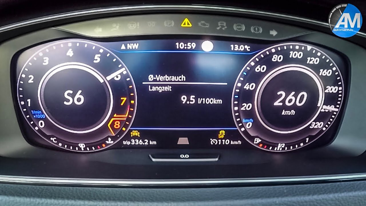 Golf 7 R Performance Pack – 0-262 km/h Launch Control🏁