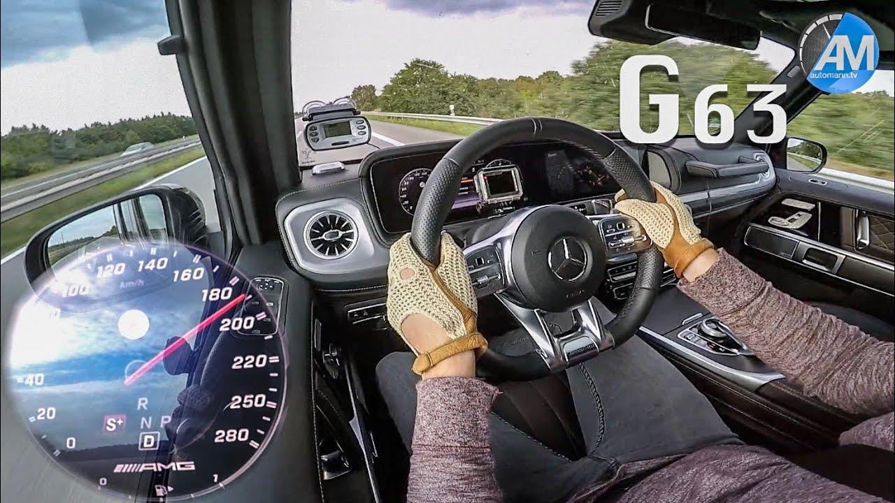 2019 Mercedes-AMG G63 (585hp) – 0-250 km/h acceleration!🏁