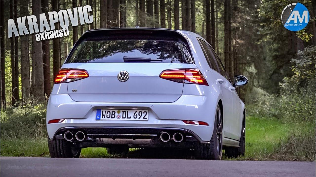 Golf 7 R Facelift + Akrapovic – pure SOUND💥!