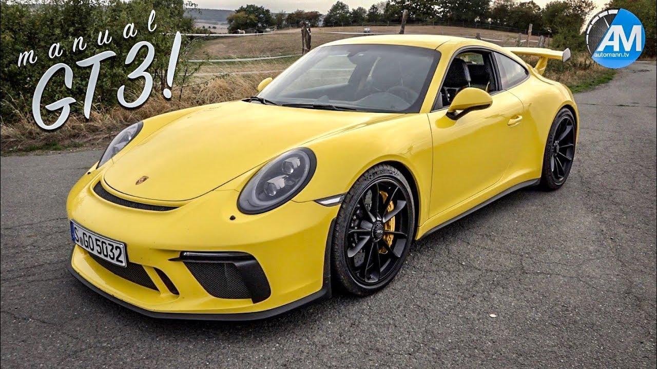 Porsche 991.2 GT3 (Manual) – #AutomannTalks🇬🇧🇩🇪