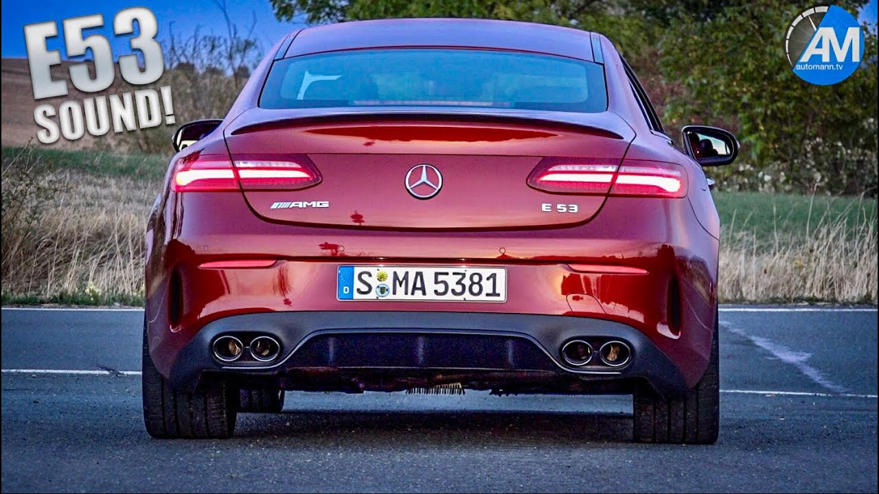 Mercedes-AMG E53 Coupé – pure SOUND!