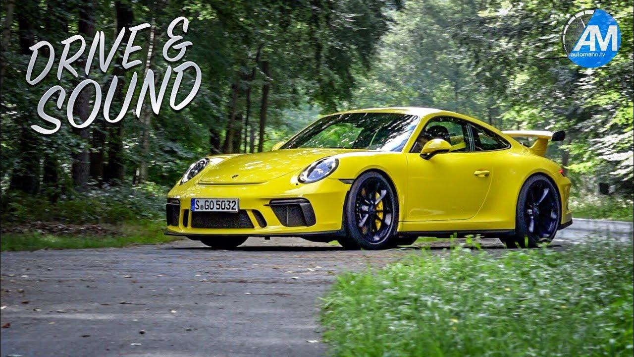 Porsche 991.2 GT3 (4.0) – DRIVE & SOUND!