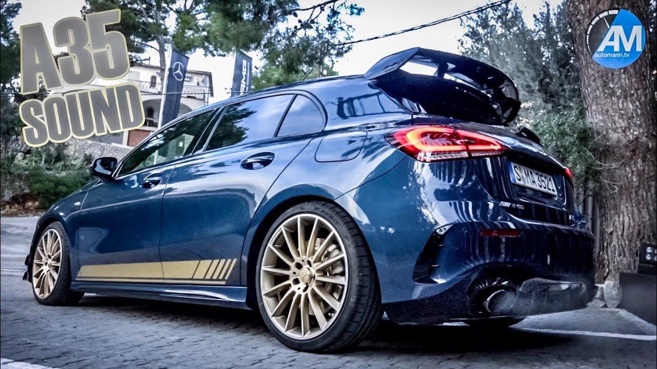 Mercedes-AMG A35 – pure SOUND!