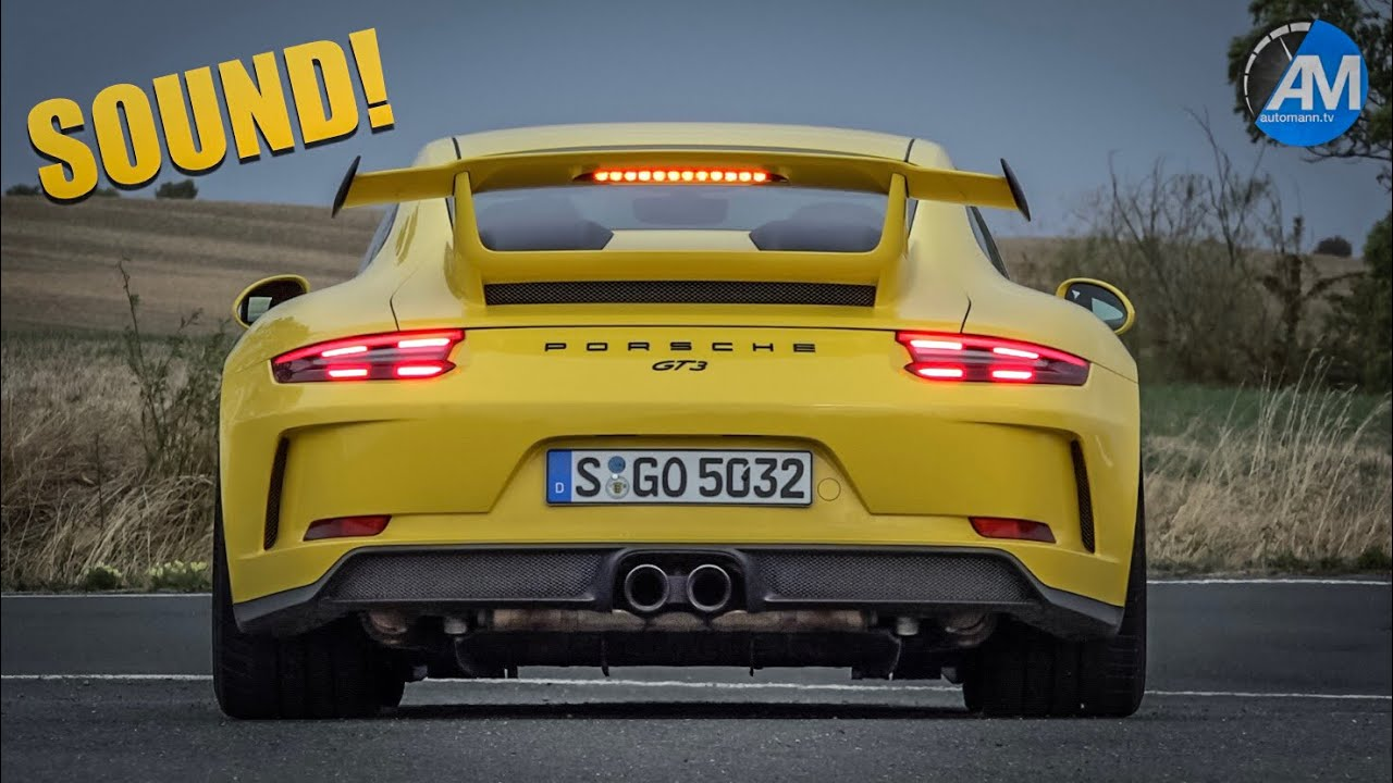 Porsche 991.2 GT3 (500hp) – 9.000 rpm SOUND!💥