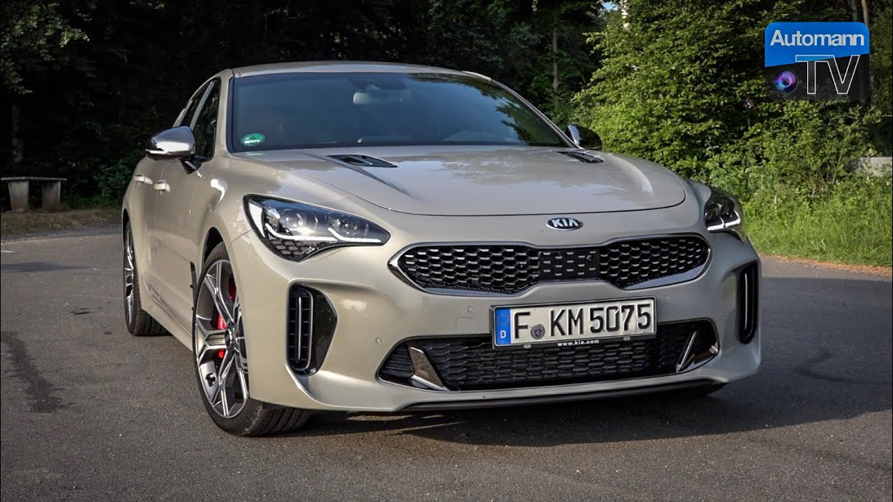 2018 KIA Stinger GT (370hp) – DRIVE & SOUND (60FPS)