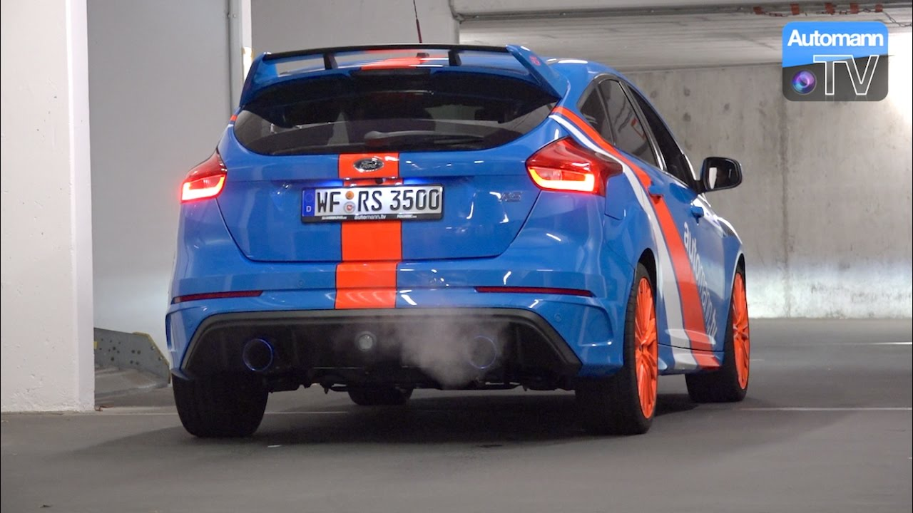 2016 Ford Focus Rs Ego X Pure Sound 60fps Automann Tv
