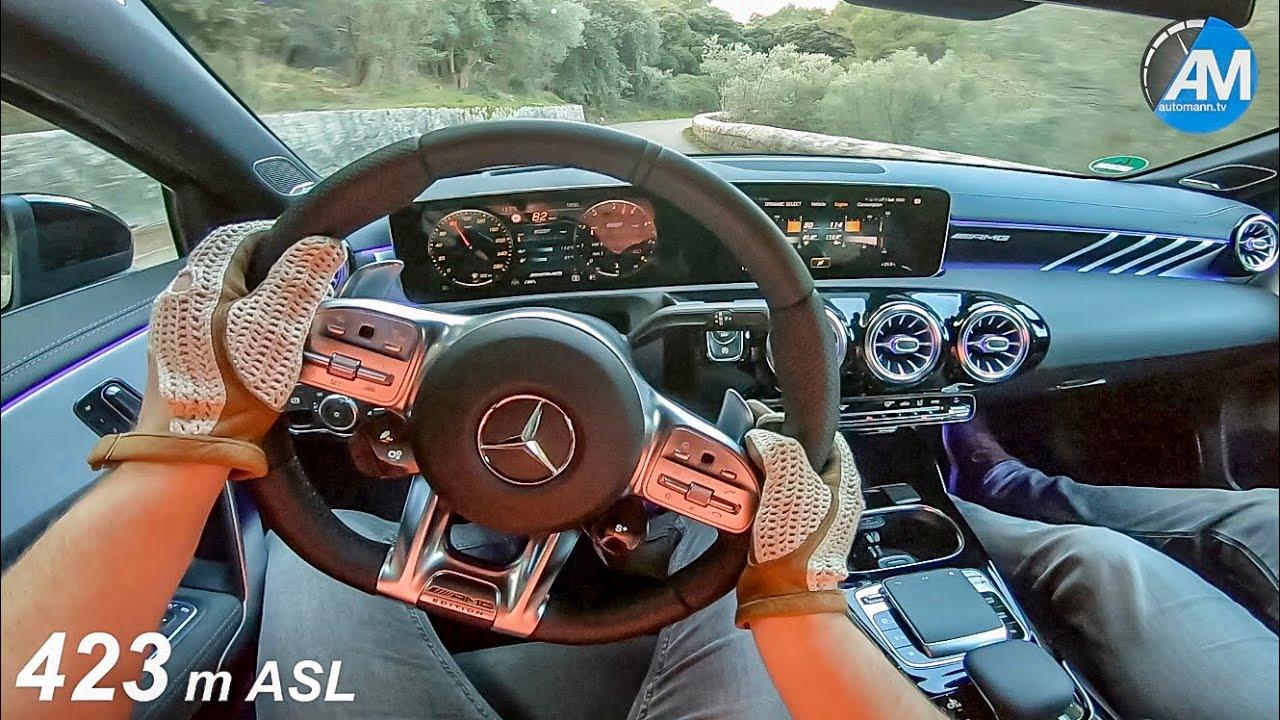 Mercedes-AMG A35 – Hill Climb Handling DRIVE!