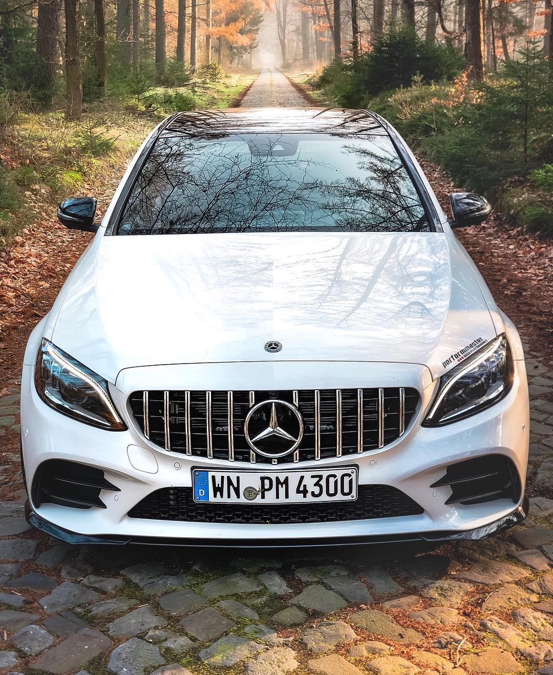 "What a car….what a mystic location…C43 ""s"" by @performmaster  #performmaster #c43amg #c43 #c43performmaster #amg #mercedesamg #amgc43 #c43facelift #c43mopf #automanntv"