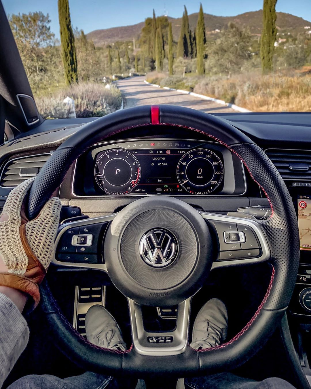 Looking forward to get that TCR on the German Autobahn落 #volkswagen #golfgti #golfgtitcr #gti #gtitcr #golf7gti #gticlubsport #automanntv #portugal