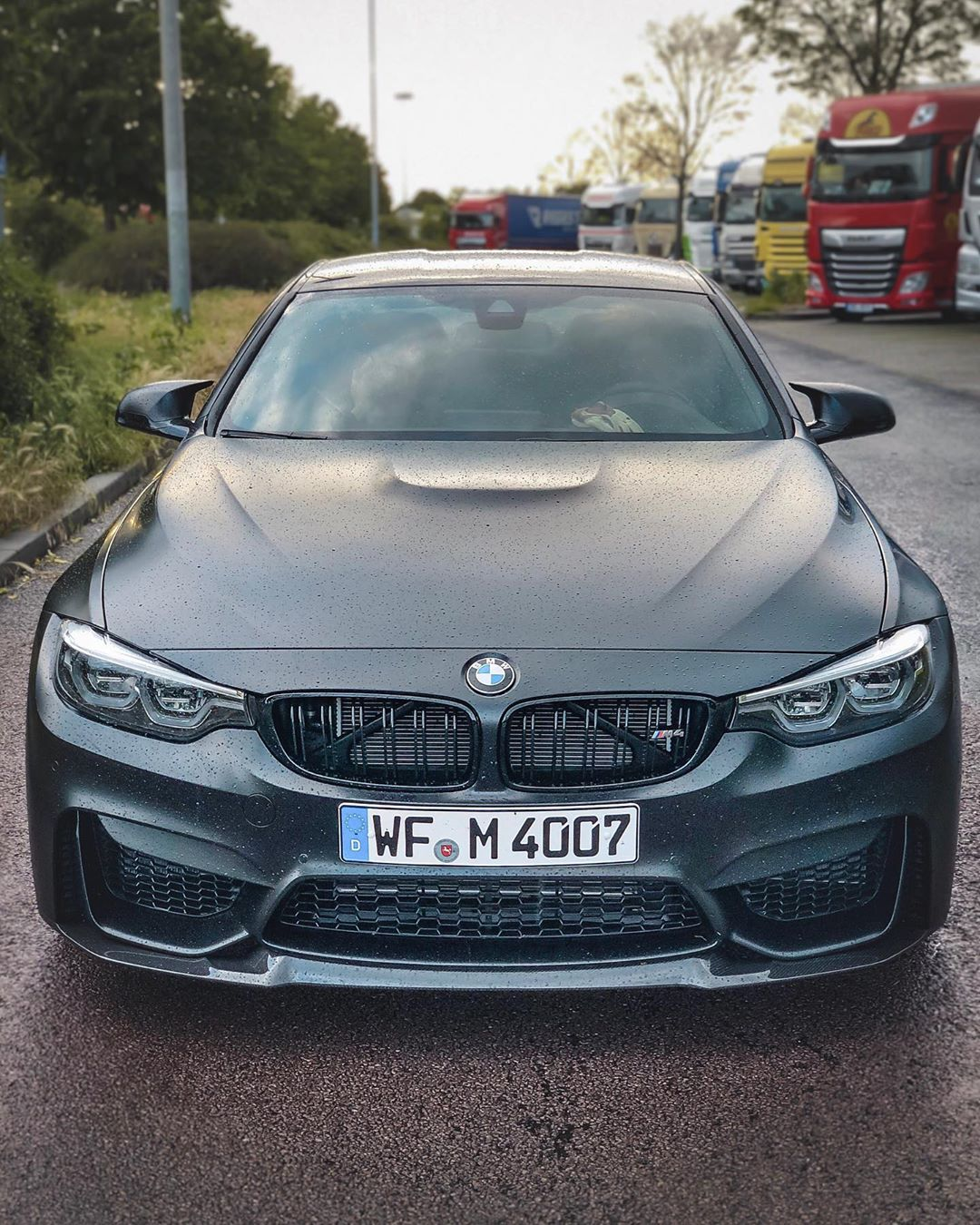 Ingolstadt collection day ahead …We are taking our M4 Competition for the Roadtrip to Bavaria  #bmwmrepost #mperformance #m4competition #m4competitionpack #m4cs #m4 #bmwm4 #bmwm4competitionpackage #frozenblack #frozenblackm4 #automanntv #automannsgarage #mtown