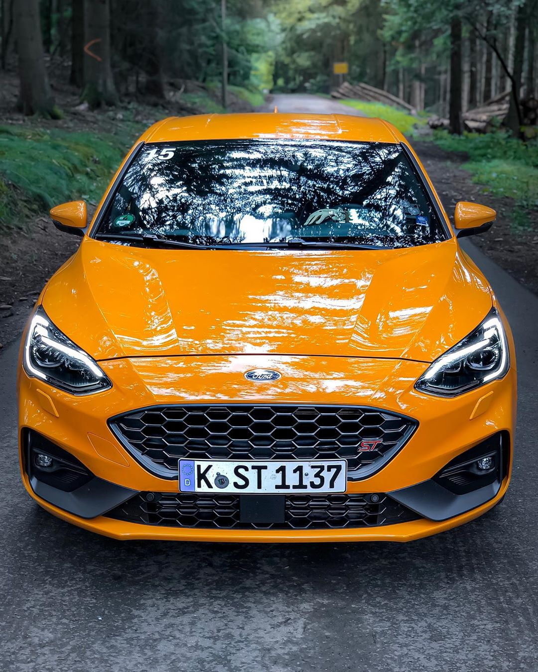 New FOCUS ST🤩😬…and guys: It SOUNDs amazing💥💥😱…awesome job @fordperformance and thanks to @forddeutschland for the car🤙 #fordperformance #fordfocusst #fordfocusstmk4 #focusst #focusstmk4 #fordcars #focusmk4st #automanntv #orangefury