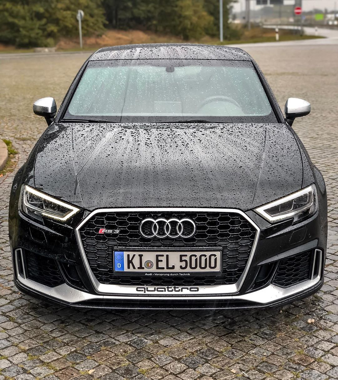 RS3 looks & drives amazing at any kind of weather😍🌧☀️#Audi rs#audi #audisport #rs3 #rs3limousine #rs3sedan #rs38v #pantherschwarz #pantherblack #blackbeauty #blackpanther #automannsgarage #automanntv