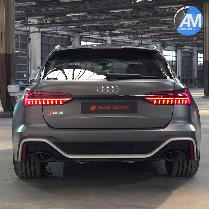 This NEW! RS6 is something else😱…I just love the wide-body design & the fact it has that marvelous Porsche-V8🤩🙏 @audisport #audisport #audirs6 #audirs6avant #rs6 #rs6avant #audirs6performance #rs62020 #automanntv