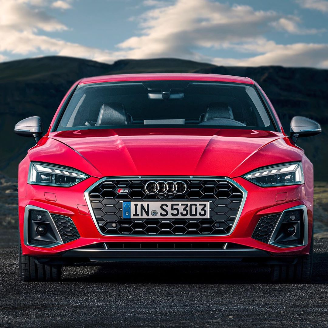 NICE🤩…new S5 TDI Facelift is out🙋♂️…getting a fan of those S-TDIs more & more🤔 #audi #audis #audis5 #audis5tdi #s5coupe #s5tdi #automanntv