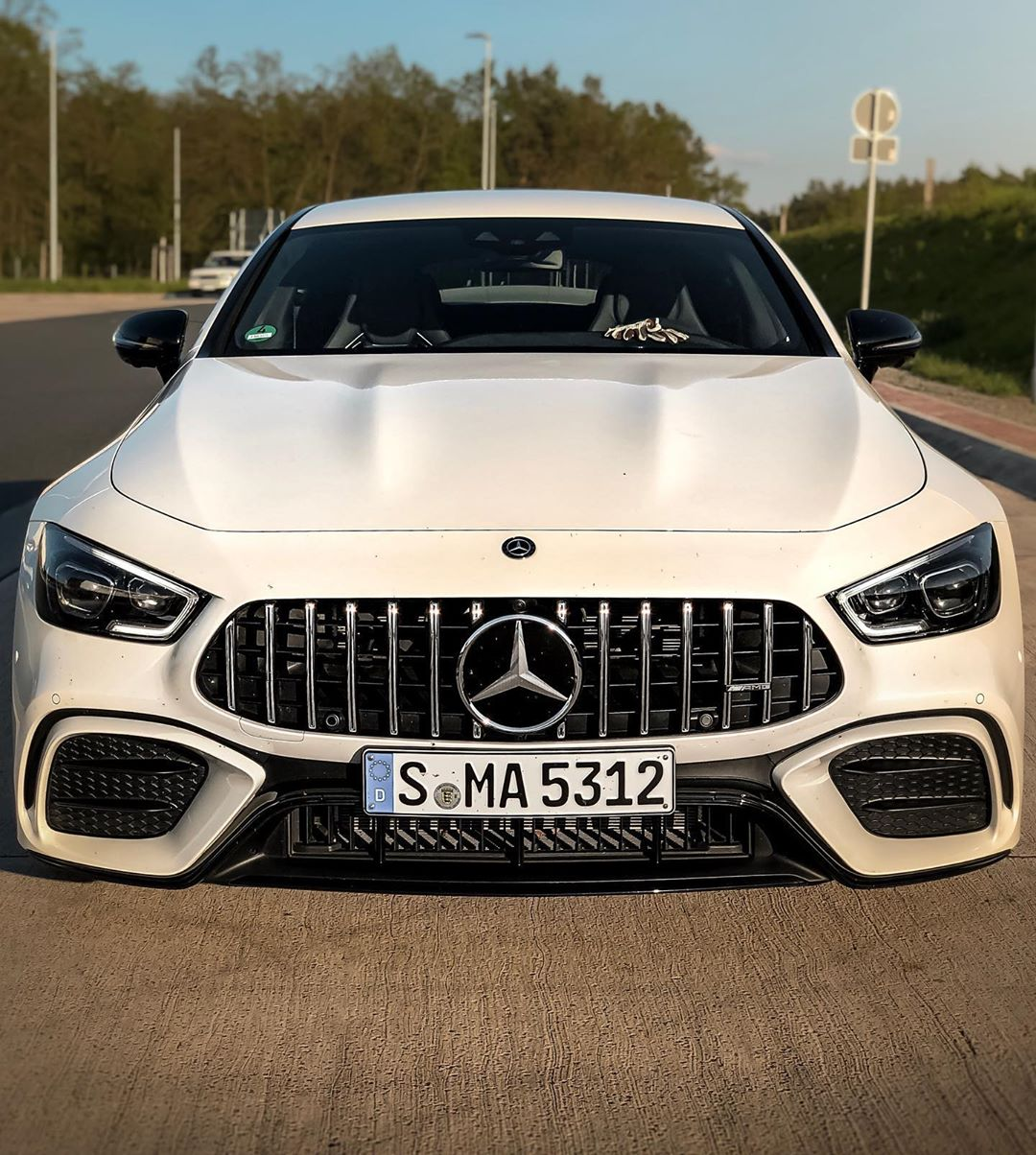 """One of my favorite cars this year despite the """"lack"""" of power👌….this GT 4-door with all it's style makes your life Special! Big buying recommendation even for the 53s & 43s☝️‼️ #mercedesamg #mbsocialcar #mbcars #amg #amggt4door #amggt53 #gt53 #automanntv"""