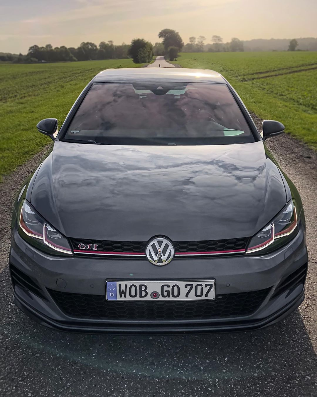 """Yipppeeaahh🤩 We drove """"GO 707"""" in Portugal this year and now have this TCR in Germany! You know what this means….yep! Autobahn accelerations💨🏁😬 #volkswagen #golfgti #golfgtitcr #gti #gtitcr #golf7gti #gticlubsport #automanntv"""