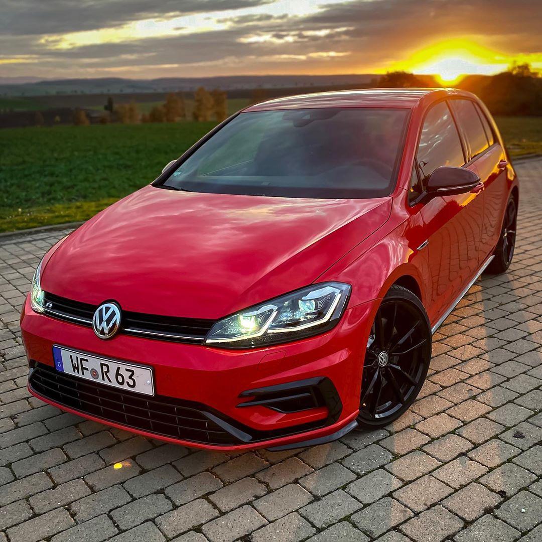 Golf R Sunset mode🔥🤩#volkswagengolfr #golfr #golf7r #golfmk7r #golffacelift #golf7rfacelift #automannsgarage #automanntv
