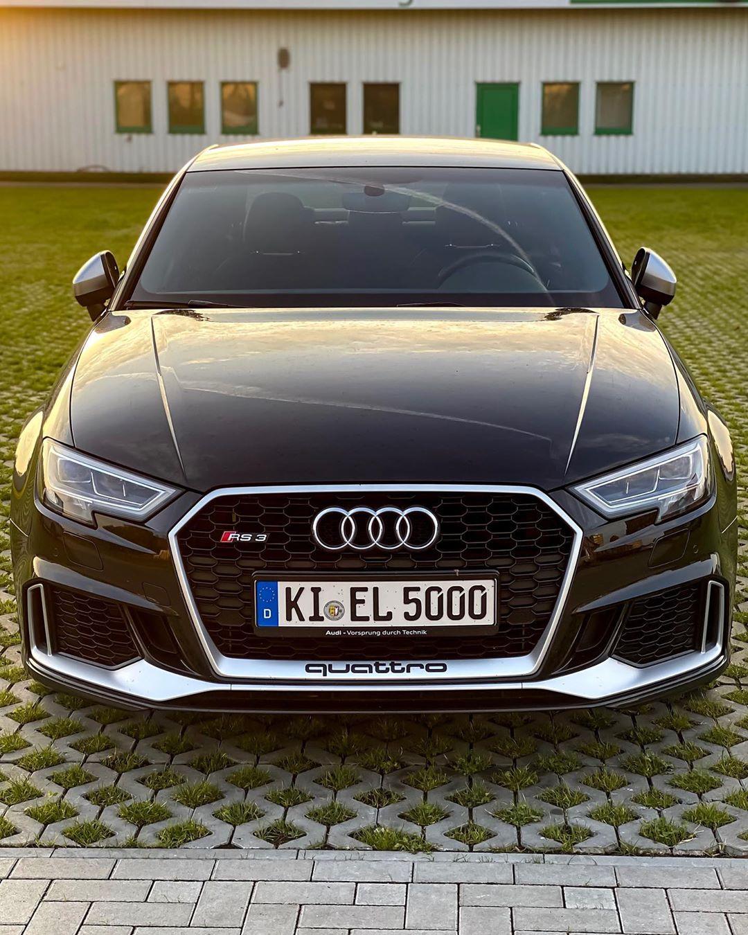 Only 4 more days😳…unbelievable nasty sounds out of this 5-pott💥🤩 #Audi rs#audi #audisport #rs3 #rs3limousine #rs3sedan #rs38v #pantherschwarz #pantherblack #blackbeauty #blackpanther #automannsgarage #automanntv