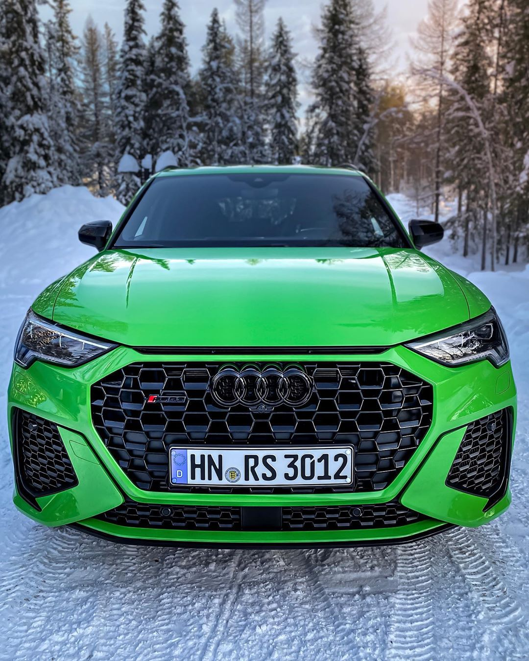 Could this be our next car following the TT RS in September 2020🤔…What do YOU think? @audi_de @audisport #audisport #audirs #audirsq3 #rsq3 #rsq3sportback #audirsq3sportback #snow #sweden #arvidsjaur #automanntv