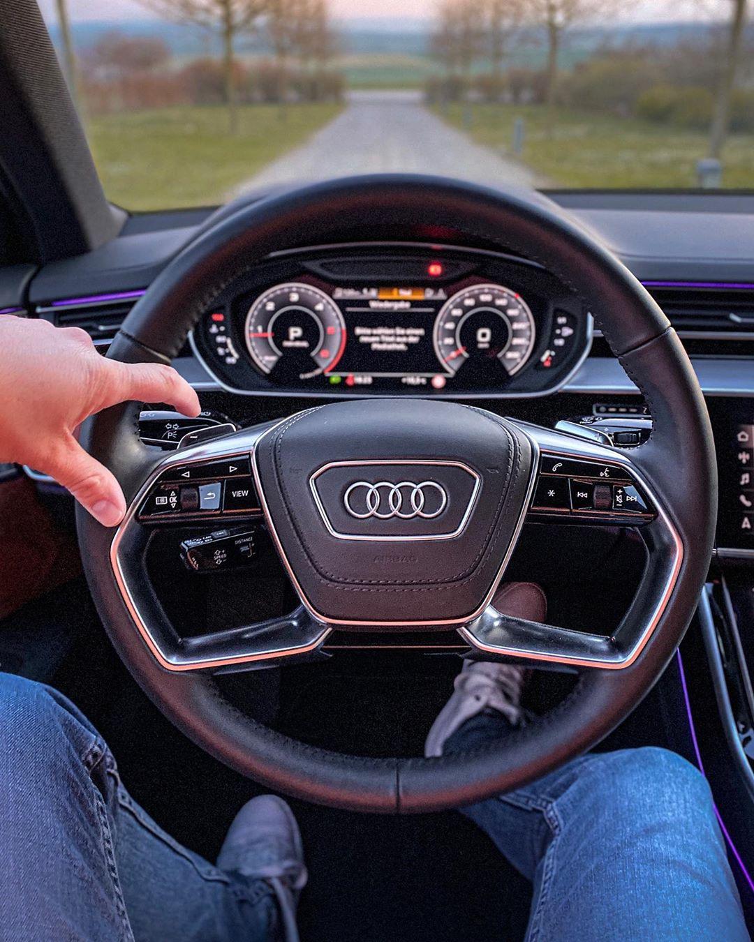 Back in our Flagship💫🙏 #audia8 #a850tdi #audiluxury #luxury #audiexclusive #a8l #a8 #automanntv #automannsgarage #audi