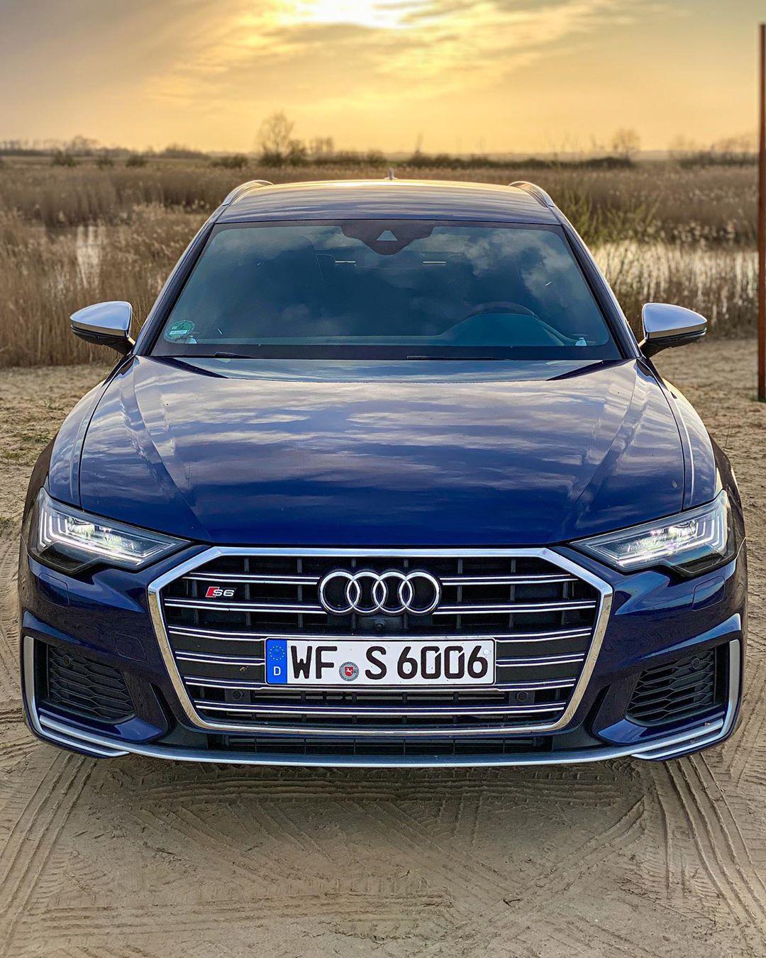 Just myself & the new S6🤷♂️….new Autobahn Video out on YouTube🤘🏁 #audis #audis6 #audia6c8 #audis6c8 #a6competition #s6 #s6avant #s6tdi #automanntv #automannsgarage #navarrablue