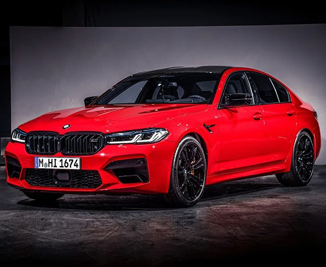 The longer I look at this the better this RED M5 looks🧐🤩…what are your thoughts? #AutomannsGarage candidate? 😇@bmwm #mtown #m5competition #m5lci #bmwm5 #bmwm5competition #competitionpackage #automanntv